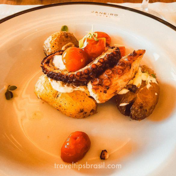 Janeiro Restaurante Polvo na Brasa